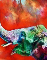 elephant-art-kleur-staand
