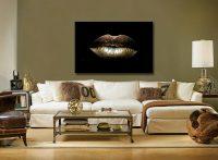 Gold Lips huiskamer 1