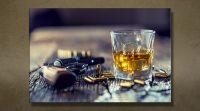 Whiskey gun klein close