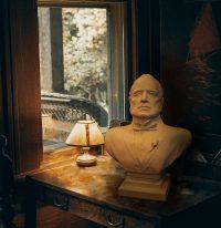 Borstbeeld Vito Corleone Wit
