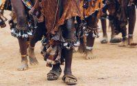 African dance liggend