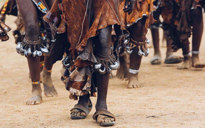 African dance schilderij