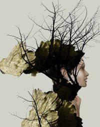 art-forest-woman-verticaal
